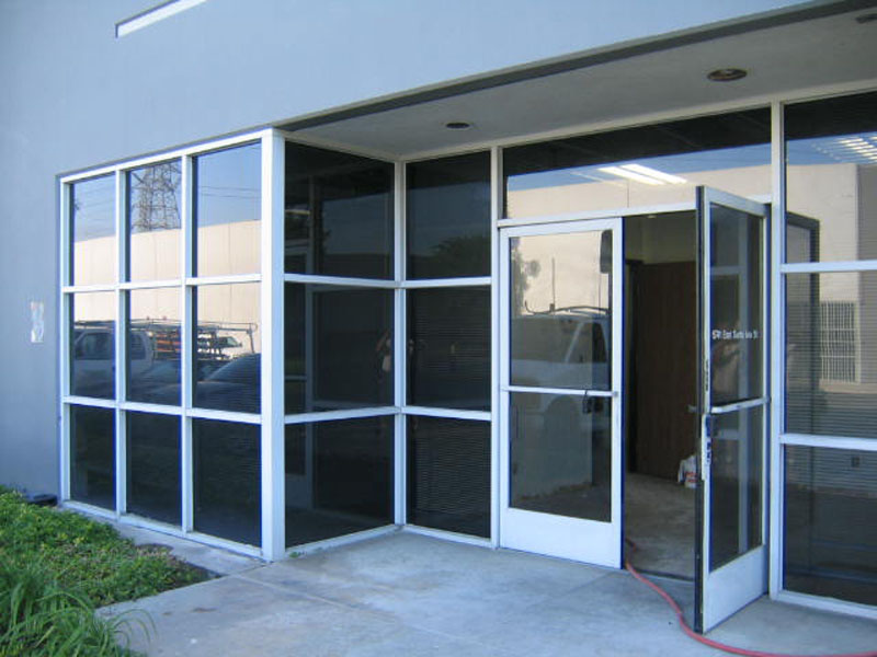 los angeles commercial glass orange county san bernardino